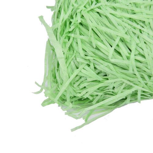 100g Colored Shredded Tissue Paper Bags Hamper Basket Paper Filler Packing  J7