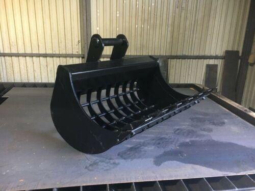 MS01 Sieblöffel Baggerschaufel Siebschaufel Bagger Minibagger Radlader 60 cm