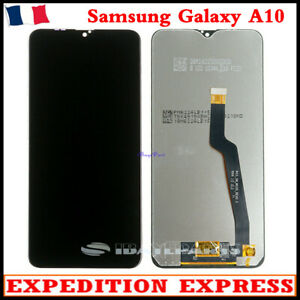 ECRAN LCD + VITRE TACTILE POUR Samsung Galaxy A10 SM-A105F A10 SCREEN NOIR