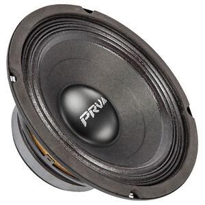 "PRV Audio 8MB450-4 8"" Midbass Woofer 4 ohms 450 Watts 96 dB 2"" Voice Coil"