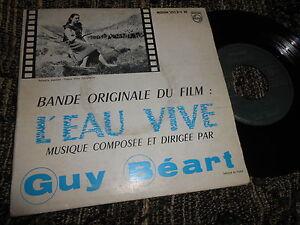 "L'EAU VIVE BSO OST Guy Beart +1 7"" Philips 432.314 FRANCE - España - L'EAU VIVE BSO OST Guy Beart +1 7"" Philips 432.314 FRANCE - España"