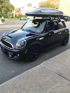 2012 black Mini Cooper S Turbo