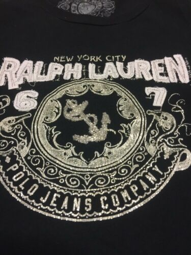 Ralph Top Size L Beautiful With Jeans Gorgeous Lauren Design Ladies Polo rwz6fqrB