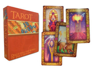 Easy-Tarot-Cards-Deck-and-Book-Set-Collection-Gift-Pack-Psychic-Learn-Read-NEW