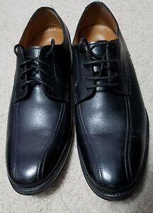 91ff30261f NEW Men s Clarks Bostonian Black Leather Dress Shoe - Size 8.5