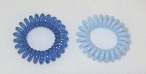 Swirly Do Hair Ties Blue (2) Tangle Free Ponytail New SwirlyDo Lindo ... 4d8a4b78d58
