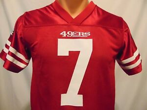3838740b Details about Colin Kaepernick #7 San Francisco 49ers Youth Large 12-14 NFL  Players Jersey