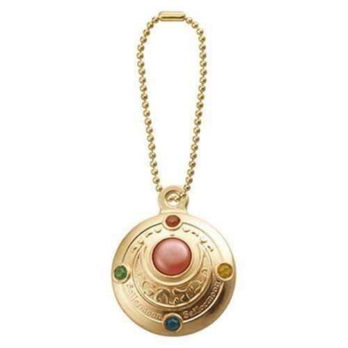 Bandai Sailor Moon Die Cast Charm Transformation Brooch