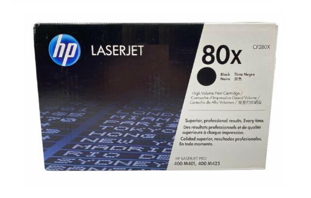 Original Toner HP Laserjet Pro 400 M401a M401dn M401dw/80X CF280X Cartridge
