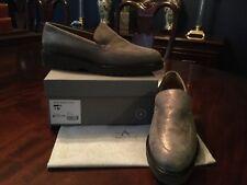 3667370aa55 Aquatalia Metallic Calf Charcoal Kelsey Weatherproof Loafer Shoe 7 ...