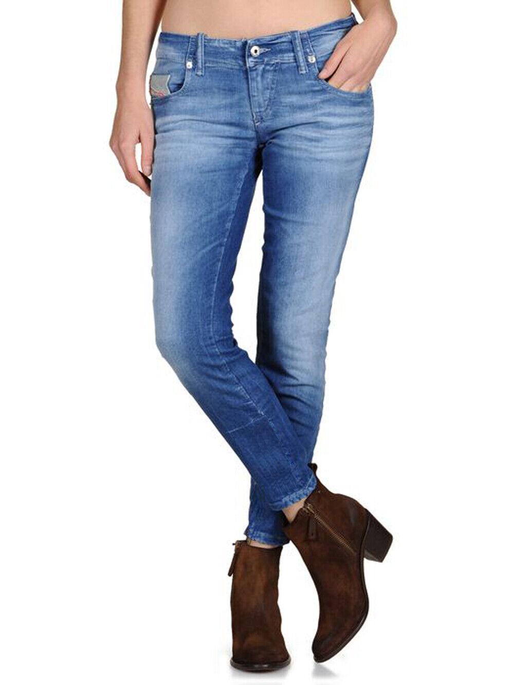 Diesel Damen Jeans Hose Skinny Grupee Super Slim 0602C