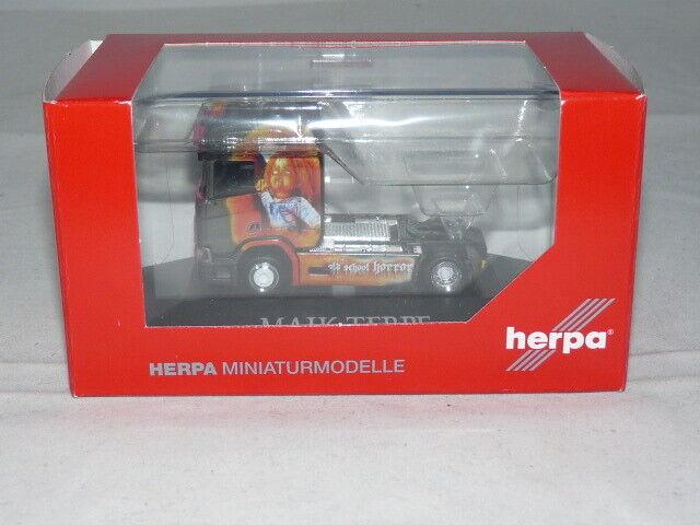 despacho de tienda Herpa 110976 scania scania scania CR 20 alta techo tractor-Maik terpe 1 87 nuevo + embalaje original  Precio por piso