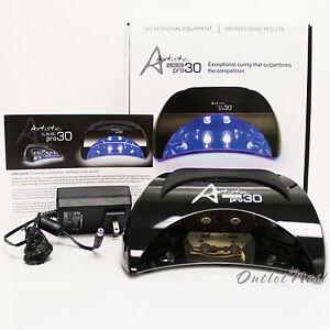 Artistic-Colour-Gloss-PRO30-LED-Pro-30-Light-Lamp-cure-Gelish-Gelcolor-Entity