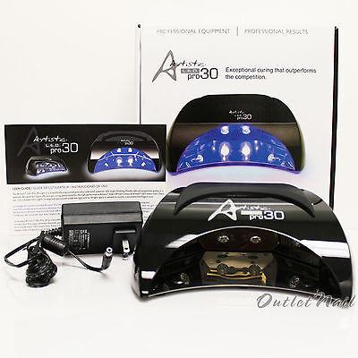 Artistic Colour Gloss PRO30 LED Pro 30 Light Lamp cure Gelcolor, Entity