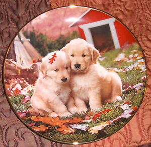 Royal-Doulton-FALL-IN-LOVE-Fine-Bone-China-Collectors-Plate-1995-by-Don-Scarlett
