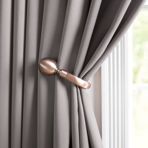 19mm /& 28mm Extendable Complete Eyelet Metal Curtain Pole Ball Finial Up To 4m