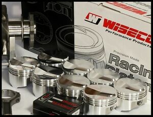 Details about BBC CHEVY 454 WISECO FORGED PISTONS & RINGS 60 OVER 4 310  +25cc DOME KP433A6