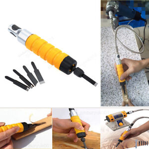 Electric Wood Carving Engraving Hand Chisel Tool Machine