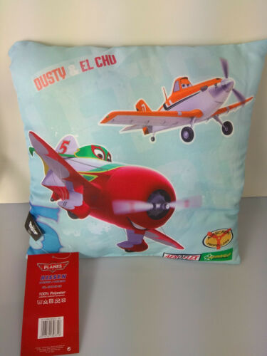 Polyester ca 40 x 40 cm Disney Planes Kissen Dusty /& El Chu