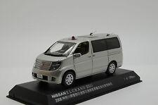 RARE ! Nissan Elgrand Unmarked Police Car 2008 Rai`s H7430801 1/43