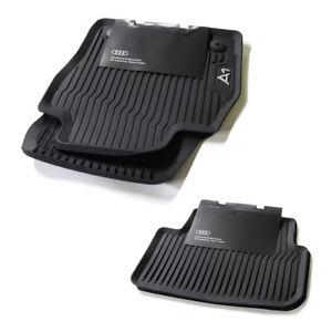 Audi A1 GB Sportback Allwetterfussmatten Satz vorn hinten 4-tlg. Gummifussmatten
