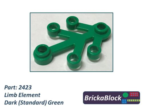Choose 1,2,4,6,8 or 10 NEW /& GENUINE Lego Part 2423 Tree Limb Element