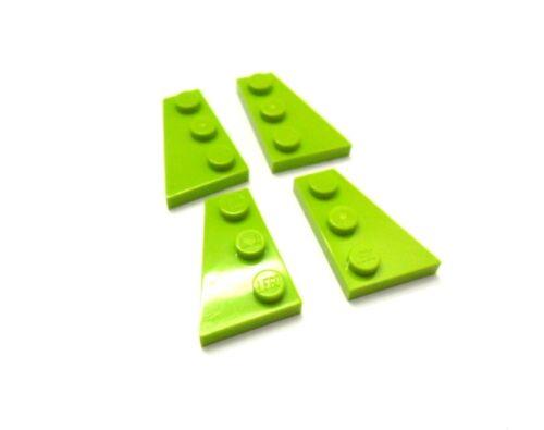 FARBAUSWAHL LEGO 2 Paar Flügel Platten Keilplatten 3x2 Noppen 43722 43723