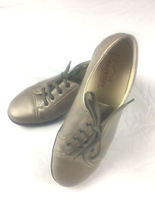 a Weite Taupe Up Softline nos H Ladies cabe 5 Goldkrone Shoes Lace By 8 twqwBR8