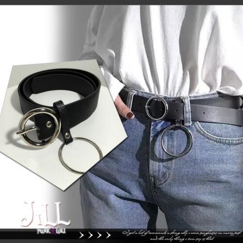 Punk kera Nana hell cats yappy korean chic Iron loop unisex belt【J1D6008】