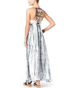 25f5978accd0e NWT Raviya Swim Swimsuit Cover Up Tie Dye Lattice Grey Dress Black ...