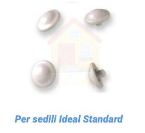 4 Pz Paracolpi Coprivaso Tipo Ideal Standard Sedile Wc Gommini Copri Water Kit Ebay