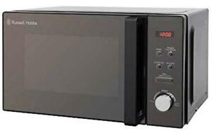 Russell Hobbs 20Litre 800W Black Digital Solo Microwave