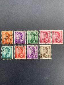 1962 HONG KONG , QUEEN ELIZABETH II