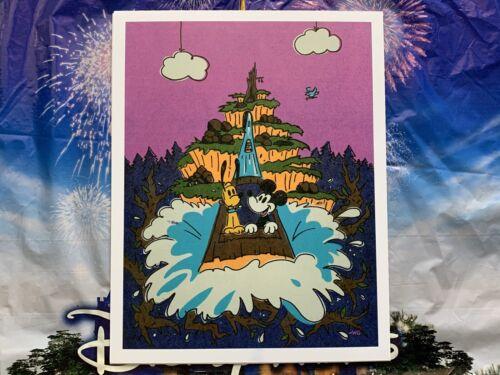 2020 Disney Parks Will Gay Print Splash Mountain Big Splash Mickey /& Pluto
