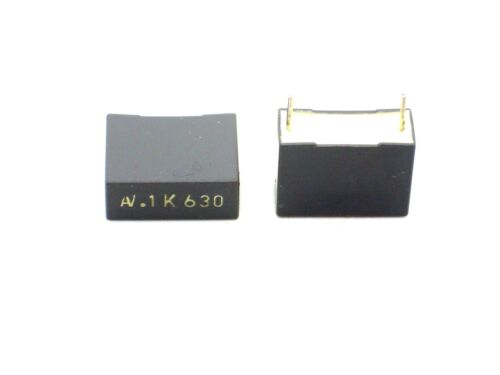 100nF,Kondensatoren,Kondensator 2x 0,1µF 630V- B33
