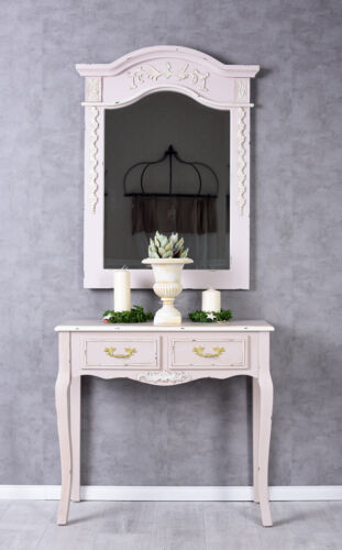 Console Table Rococo Table Console Pink Wall Table Console Wood Console Antique