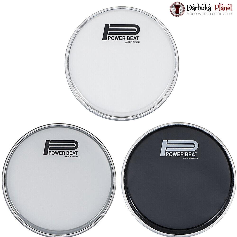 The Ultimate Package    8.75  Power Beat Darbuka Drum Head - 3 Farbe