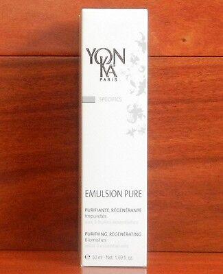YONKA EMULSION PURE Blemishes Purify 1.7 oz 50 ML New in Box - FRESH