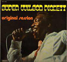 "WILSON PICKETT ""ORIGINAL SESSION"" EARLY RECORDINGS 70'S LP MUSIDISC 1333"