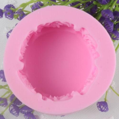 3D CANDELA CILINDRO Rose Stampo Sapone Stampi Stampo in silicone sapone fatto a mano Artigianato fai da te