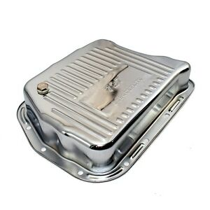 NEW-727-Torqueflite-3-034-Deep-Chrome-Plated-Automatic-Transmission-Oil-Pan