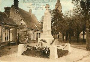 TREMBLAY-LES-VILLAGES-le-Vicomte-Monument-eleve-Memoire-Enfants-Morts-Guerre-14