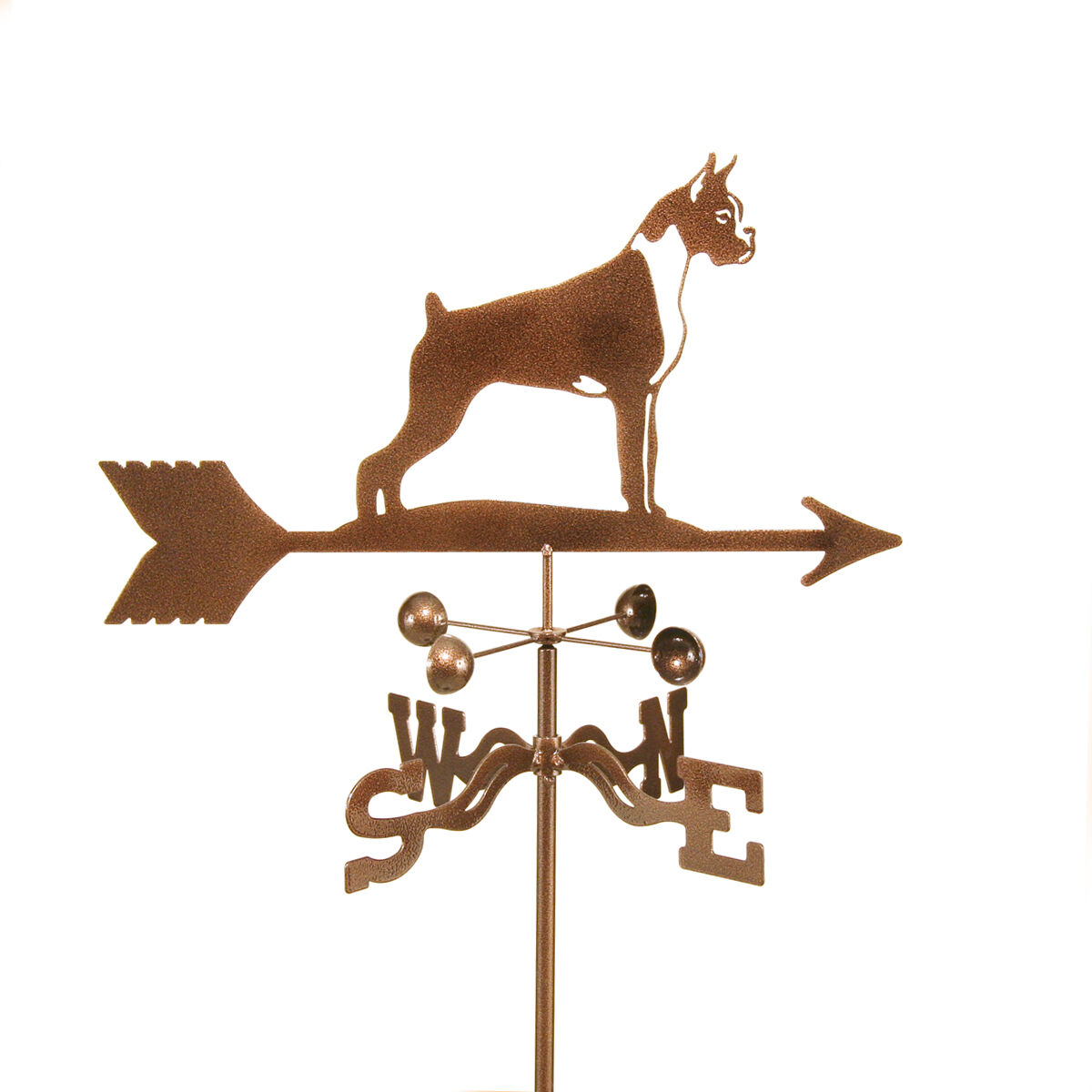 Dog - Boxer Weathervane - Weather Vane - Complete with Choice of Mount