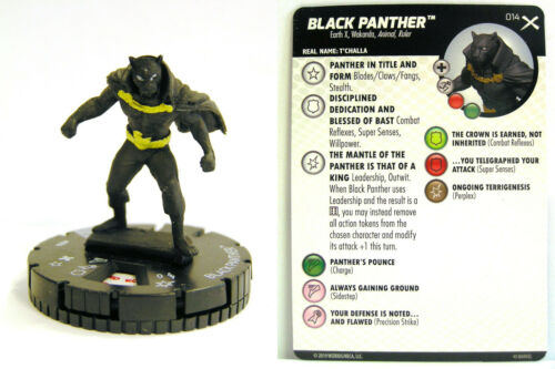 Heroclix Earth X #014 Black Panther