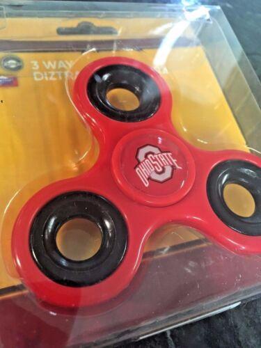 OHIO STATE BUCKEYES LICENSED Fidget Hand Spinner Fidgit Spinner USA SELLER!