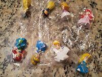 Zizzle Zizzlingers Disney Princess 8 Different Pieces In Unopened Baggie.