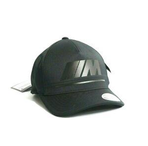 BMW-Genuine-M-Collection-Adjustable-Black-Baseball-Cap-NEW-OEM-80162466301