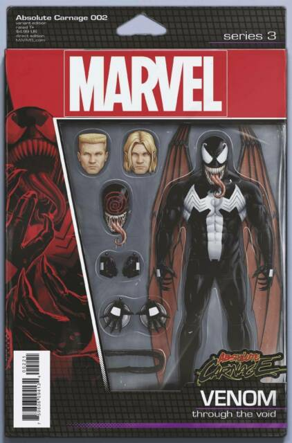 Absolute Carnage #2 Action Figure Variant Cover STOCK PHOTO Marvel 2019 00221