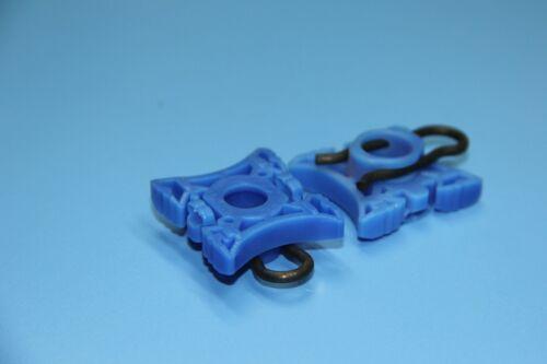 CITROEN C1 C2 BLUE WINDOW REGULATOR SLIDING PIVOT RETAINER CLIPS *2PCS*