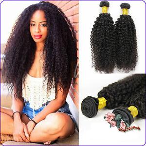 3 bundles kinky curly weave human hair extensions 100 unprocessed image is loading 3 bundles kinky curly weave human hair extensions pmusecretfo Images